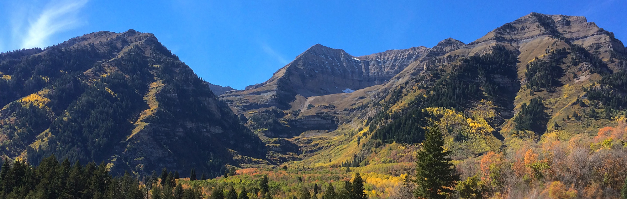 Picture of Sundance Mountain Range in the Fall